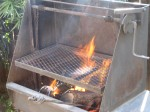 Santa Maria Red Oak BBQ Pit