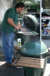 Big Green Egg  BBQ Smoker